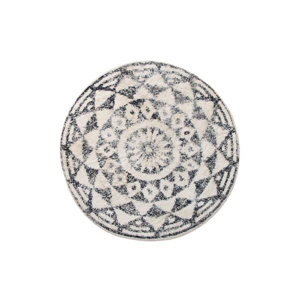 Bilde av Hk Living rund baderomsmatte 60 cm, swirl