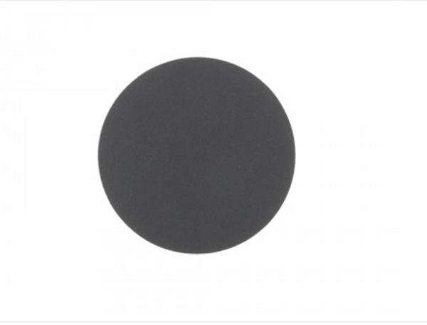 Bilde av Glass mat circle 10cm nupo anthracite