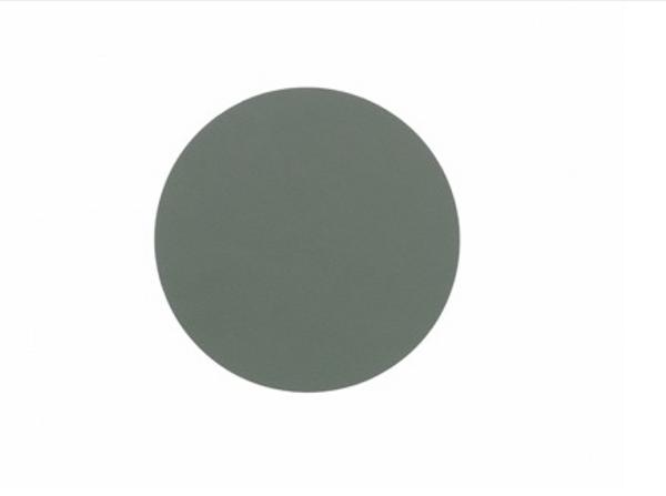 Bilde av glass mat circle 10cm nupo pastel green