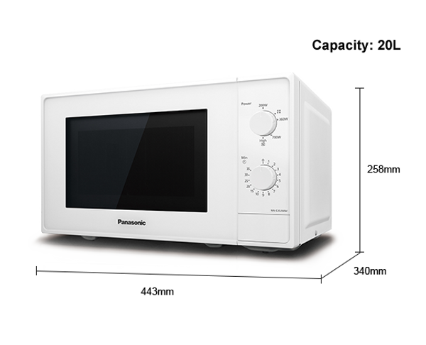 Bilde av Panasonic microwave oven, NN-E20JWM