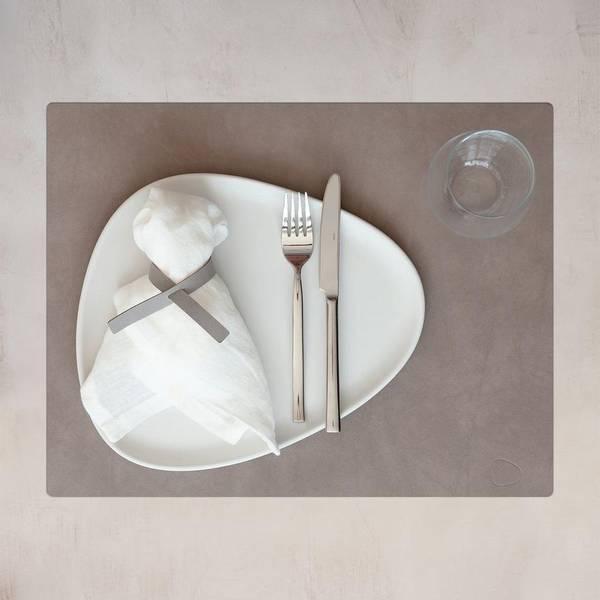 Bilde av Bordbrikke Square L 35x 45 cm Nomad Grey